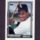 1992 Topps Baseball #094 Sammy Sosa - Chicago White Sox