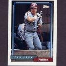 1992 Topps Baseball #030 John Kruk - Philadelphia Phillies