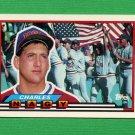 1989 Topps BIG Baseball #217 Charles Nagy - Cleveland Indians