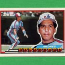 1989 Topps BIG Baseball #173 Andres Galarraga - Montreal Expos
