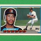 1989 Topps BIG Baseball #102 Roberto Alomar - San Diego Padres