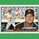 1989 Topps BIG Baseball #034 Mark McGwire - Oakland A's
