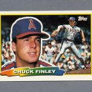 1988 Topps BIG Baseball #254 Chuck Finley - California Angels