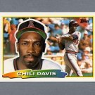 1988 Topps BIG Baseball #235 Chili Davis - California Angels