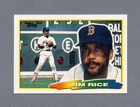 1988 Topps BIG Baseball #181 Jim Rice - Boston Red Sox