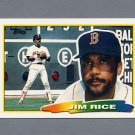 1988 Topps BIG Baseball #181 Jim Rice - Boston Red Sox