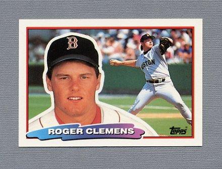 1988 Topps BIG Baseball #118 Roger Clemens - Boston Red Sox