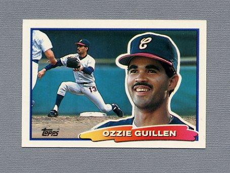 1988 Topps BIG Baseball #027 Ozzie Guillen - Chicago White Sox