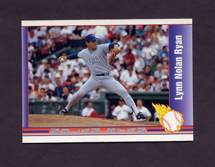 1991 Pacific Ryan Texas Express I Baseball #110 Nolan Ryan - Texas Rangers