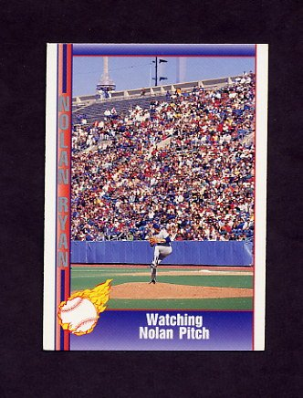 1991 Pacific Ryan Texas Express I Baseball #102 Nolan Ryan - Texas Rangers