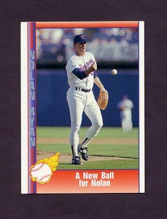 1991 Pacific Ryan Texas Express I Baseball #097 Nolan Ryan - Texas Rangers