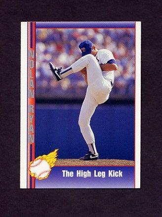 1991 Pacific Ryan Texas Express I Baseball #095 Nolan Ryan - Texas Rangers