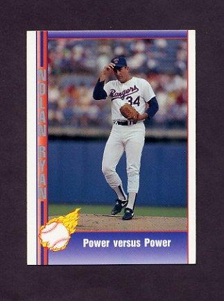 1991 Pacific Ryan Texas Express I Baseball #088 Nolan Ryan - Texas Rangers