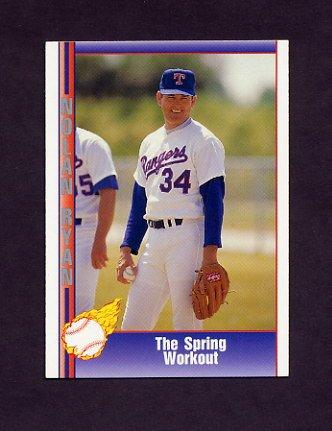 1991 Pacific Ryan Texas Express I Baseball #087 Nolan Ryan - Texas Rangers