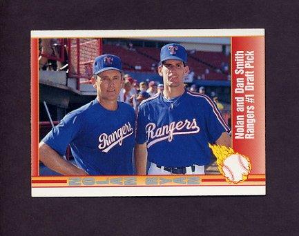 1991 Pacific Ryan Texas Express I Baseball #061 Nolan Ryan / Dan Smith - Texas Rangers