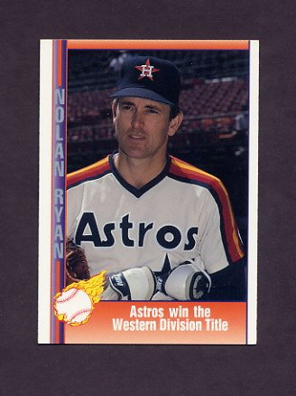 1991 Pacific Ryan Texas Express I Baseball #047 Nolan Ryan - Houston Astros