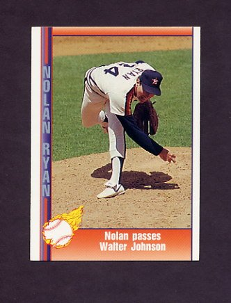 1991 Pacific Ryan Texas Express I Baseball #045 Nolan Ryan - Houston Astros