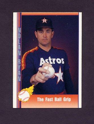 1991 Pacific Ryan Texas Express I Baseball #041 Nolan Ryan - Houston Astros