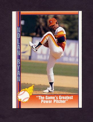 1991 Pacific Ryan Texas Express I Baseball #038 Nolan Ryan - Houston Astros