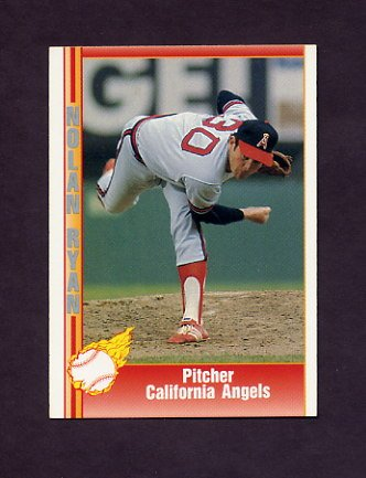 1991 Pacific Ryan Texas Express I Baseball #034 Nolan Ryan - California Angels