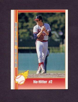 1991 Pacific Ryan Texas Express I Baseball #026 Nolan Ryan - California Angels