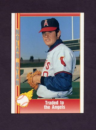 1991 Pacific Ryan Texas Express I Baseball #019 Nolan Ryan - California Angels