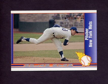 1991 Pacific Ryan Texas Express I Baseball #018 Nolan Ryan - New York Mets