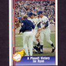 1991 Pacific Ryan Texas Express I Baseball #012 Nolan Ryan - New York Mets
