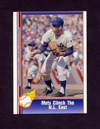 1991 Pacific Ryan Texas Express I Baseball #010 Nolan Ryan - New York Mets