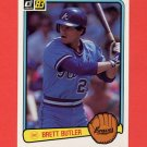 1983 Donruss Baseball #636 Brett Butler - Atlanta Braves