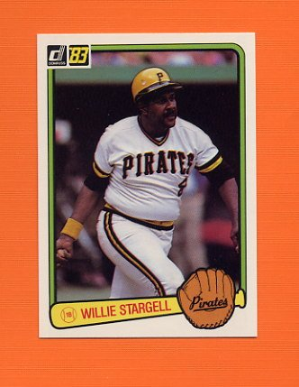 1983 Donruss Baseball #610 Willie Stargell - Pittsburgh Pirates