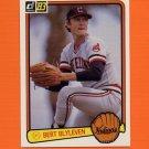 1983 Donruss Baseball #589 Bert Blyleven - Cleveland Indians