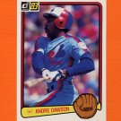 1983 Donruss Baseball #518 Andre Dawson - Montreal Expos