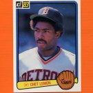 1983 Donruss Baseball #511 Chet Lemon - Detroit Tigers