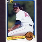 1983 Donruss Baseball #487 Dennis Eckersley - Boston Red Sox