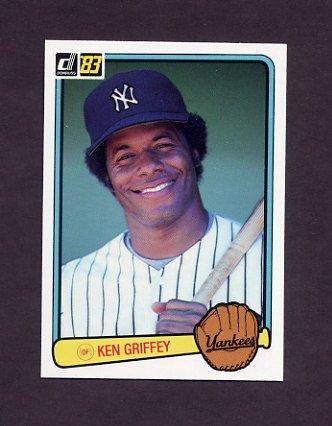 1983 Donruss Baseball #486 Ken Griffey - New York Yankees