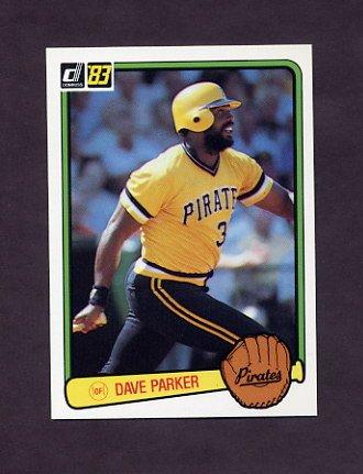 1983 Donruss Baseball #473 Dave Parker - Pittsburgh Pirates