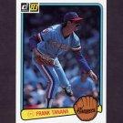 1983 Donruss Baseball #447 Frank Tanana - Texas Rangers