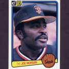 1983 Donruss Baseball #438 Joe Morgan - San Francisco Giants