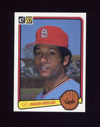 1983 Donruss Baseball #316 Joaquin Andujar - St. Louis Cardinals