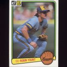 1983 Donruss Baseball #258 Robin Yount - Milwaukee Brewers