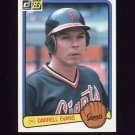 1983 Donruss Baseball #251 Darrell Evans - San Francisco Giants
