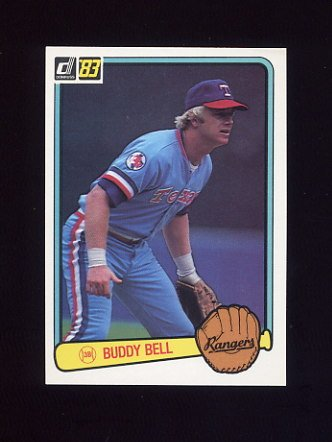 1983 Donruss Baseball #215 Buddy Bell - Texas Rangers