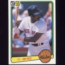 1983 Donruss Baseball #208 Jim Rice - Boston Red Sox