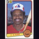 1983 Donruss Baseball #140 Al Oliver - Montreal Expos