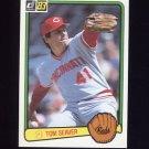 1983 Donruss Baseball #122 Tom Seaver - Cincinnati Reds