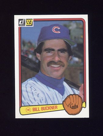 1983 Donruss Baseball #099 Bill Buckner - Chicago Cubs