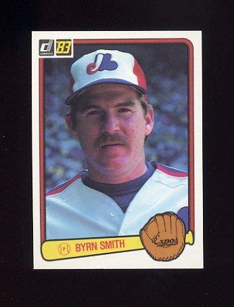 1983 Donruss Baseball #088A Bryn Smith - Montreal Expos