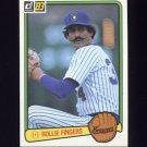 1983 Donruss Baseball #078 Rollie Fingers - Milwaukee Brewers