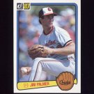 1983 Donruss Baseball #077 Jim Palmer - Baltimore Orioles